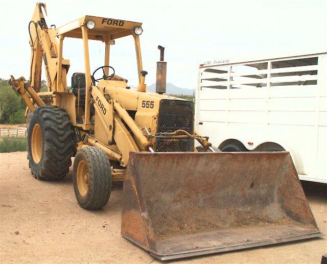 ford 555 backhoe parts