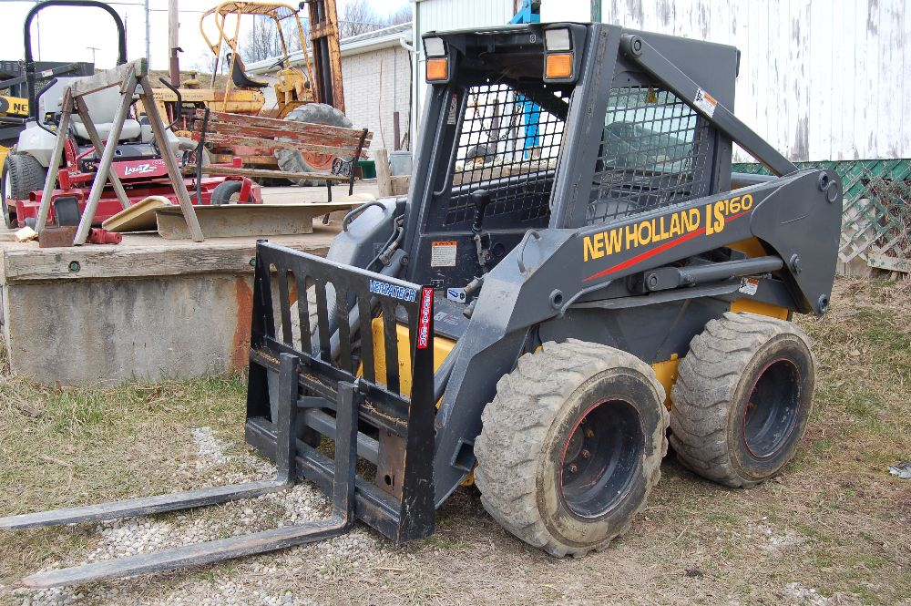New Holland LS160 Skid Steer Parts Store  If you need help