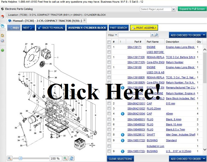 Ford Tractor Parts - Online Parts Store for tractors